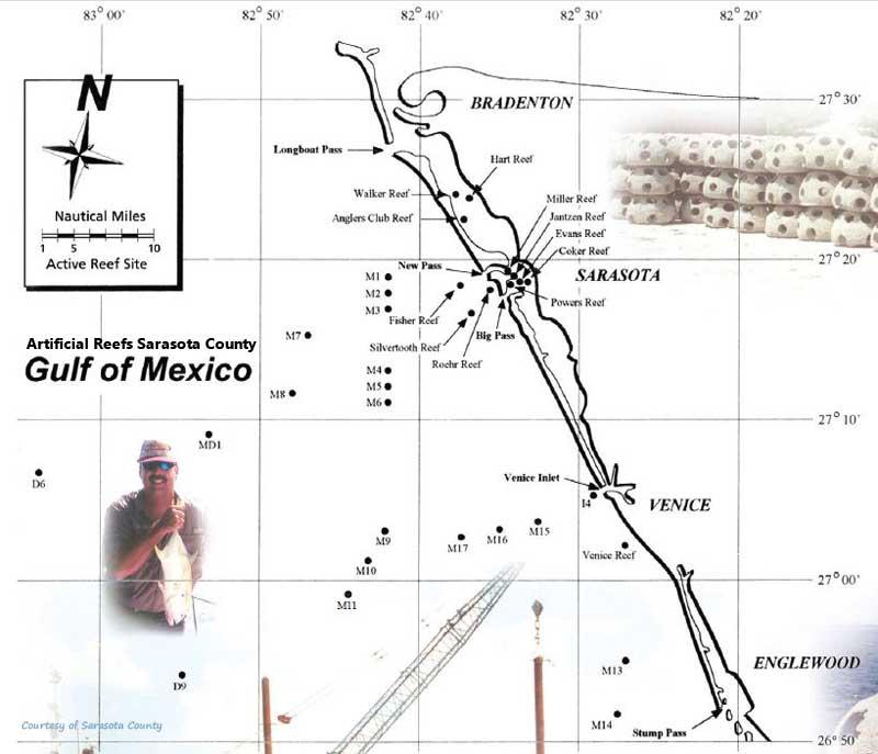 Central West Reefs Shipwrecks Florida Go Fishing